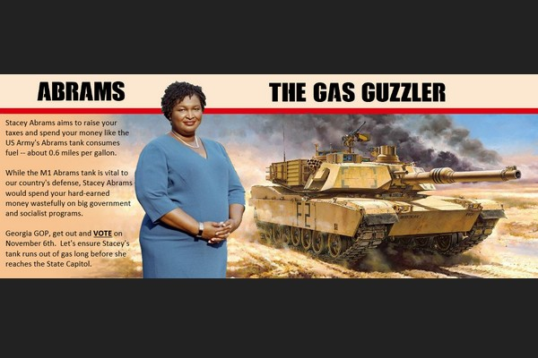 Stacey Adams and the Abrams Tank