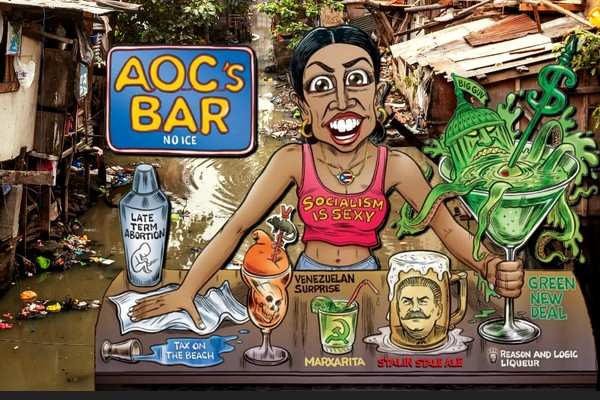 AOC's Bar in Guatamala