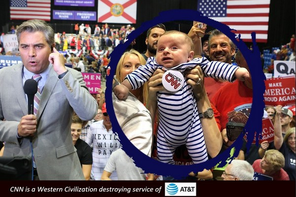 CNN Sucks: Baby Accosts Reporter Jim Acosta