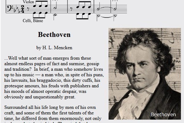 The Source of Beethoven's Musical Genius: His Greater Dignity as a Man