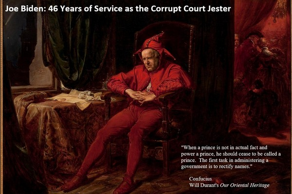 Biden: The Corrupt Court Jester