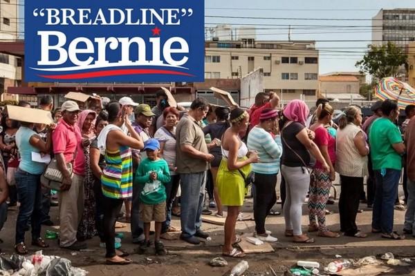 Breadline Bernie Sanders