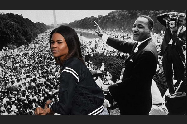 Martin Luther King and Candace Owens