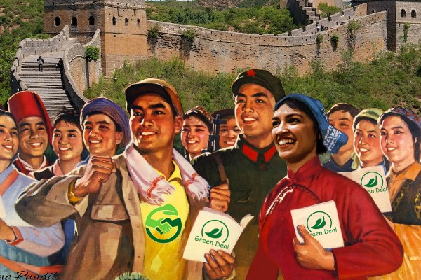 Chinese Brainwashed Buy into AOC's Green New Deal