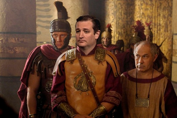 Ted Cruz as Caesar