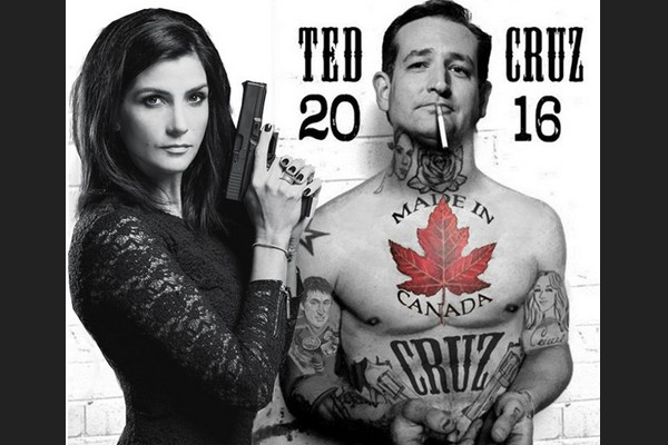 Dana Loesch and Ted Cruz