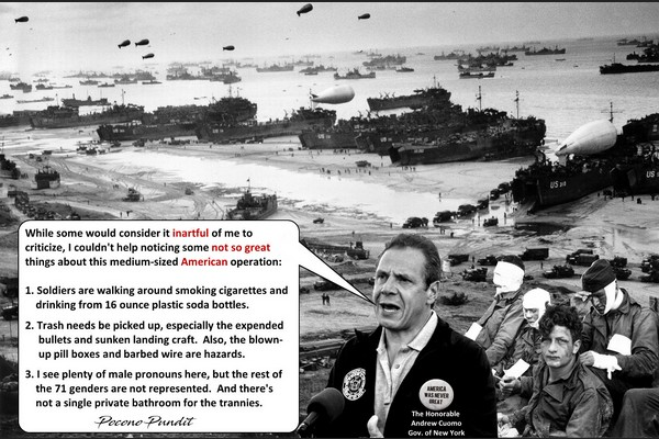 Andrew at D-Day: America Not So Great