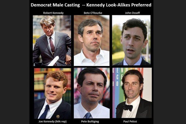 Democrat Male Casting for a Modern JFK
