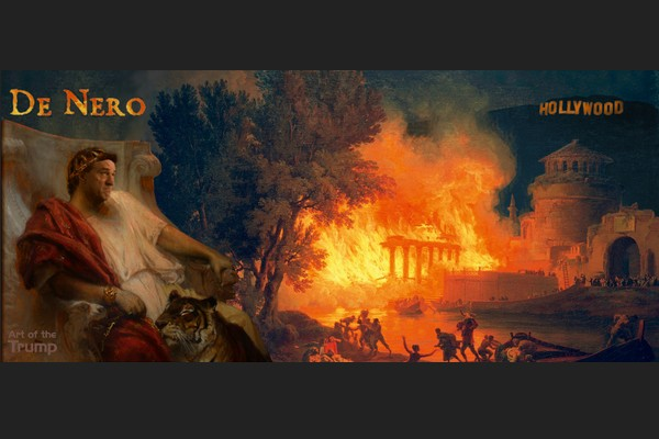 De Nero Burns Down Hollywood