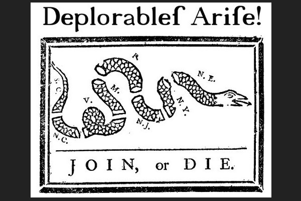 Deplorables Arise: American Revolution Meme