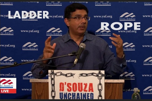 Dinesh D'Souza's American Parable: Are you a Person of the Ladder or the Rope?