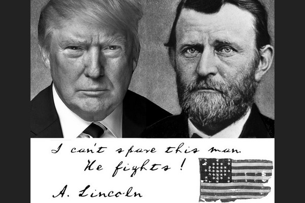 Lincoln: I can't spare this man -- He fights!