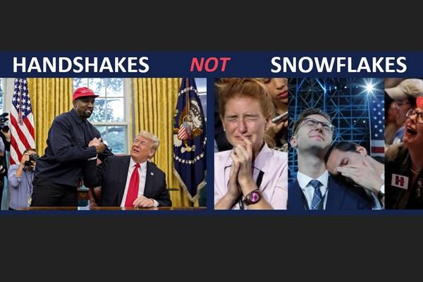 Handshakes not Snowflakes