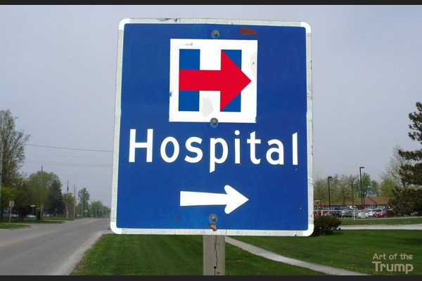 Directional Signs to the Hillary Rally Point