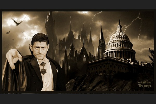 Paul Ryan's House of Dracula