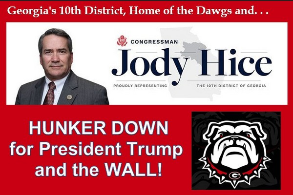 Congressman Hice Hunkers Down for President Trump