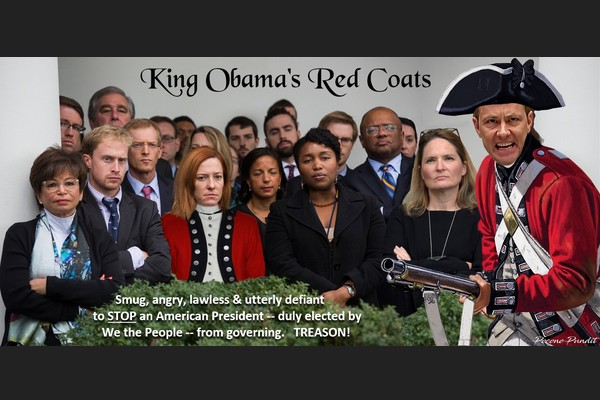 King Obama's Red Coats