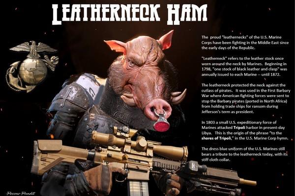 Leatherneck Ham