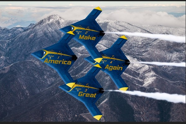 MAGA Blue Angels