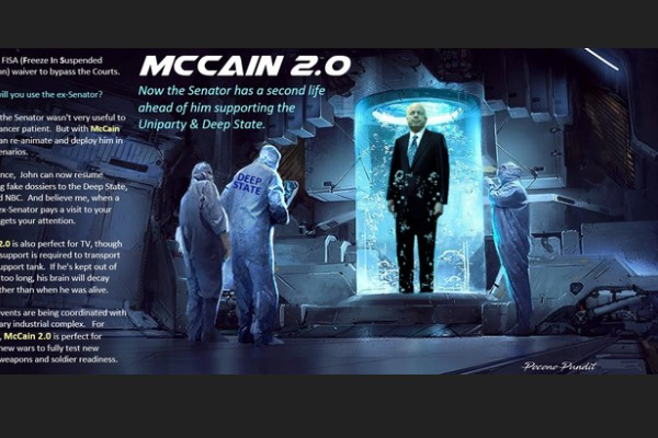 Suspended Animation: McCain's 2nd Life for the Uniparty & Deep State