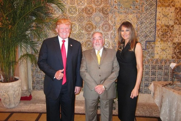 Michael Savage Meets President Trump at Mar a Lago