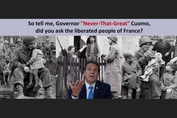 Cuomo Never that Great: GIs Liberate France