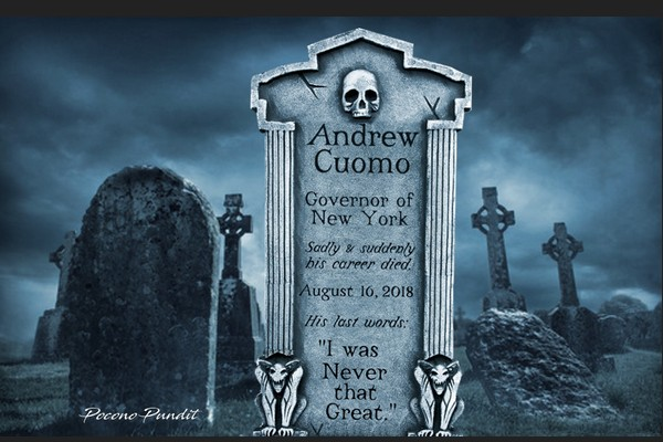 Andrew Cuomo Epitaph: He was Never that Great