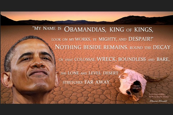 My Name is Obamandias, King of Kings