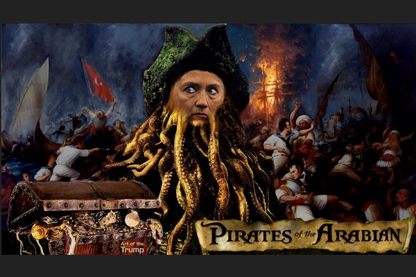 Reckless Hillary and the Pirates of the Arabian