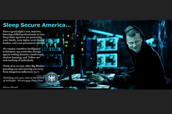 Sleep Secure America -- The Deep State is Watching over You