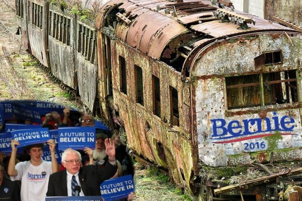 Bernie's Vision of America -- a Train Wreck