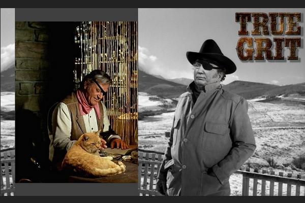 True Grit -- Trump as John Wayne