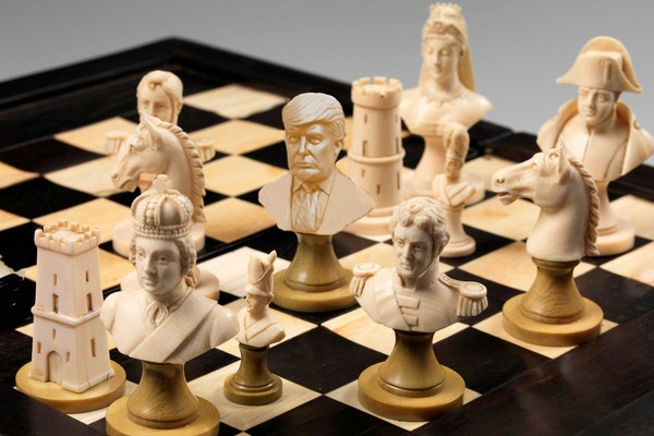 The Trump Chess Piece