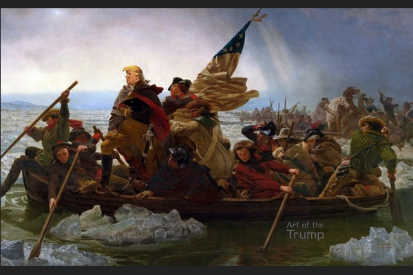 Trump Crosses the Delaware