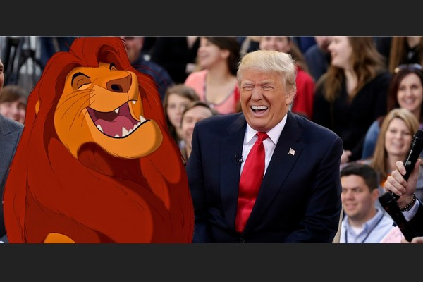 Trump and the Lion King