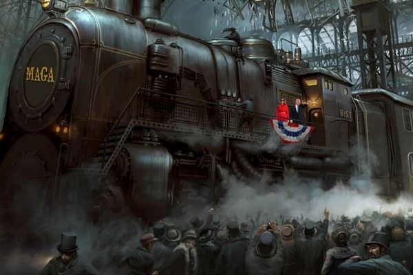 President Trump is a Steam Loccomotive that Can't Be Stopped