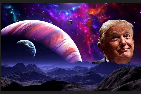 Trump, the Unexplained Galactic Phenomenon that has Astronomers Baffled